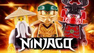 LEGO Ninjago 71702 Золотой робот из сериала Лего Ниндзяго Наследие 2020 Обзор